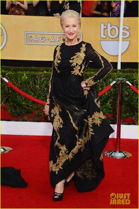 Helen Mirren Has At Sag Awards by Helen Mirren Sag Awards 2014 Carpet Photo 3034680