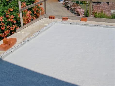 isolamento terrazzi insolamento terrazzi con poliuretano magma isolamenti