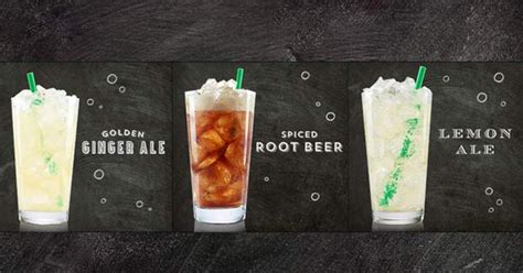 Handcrafted Starbucks Drinks - starbucks tests new line of handcrafted sodas ny daily news