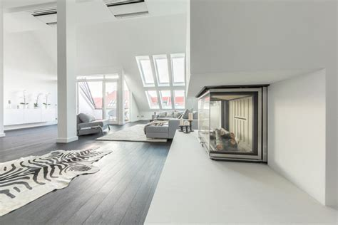 berlin appartments minimalist penthouse apartment in berlin has a gallery