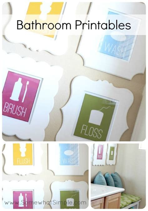 free kids bathroom printables flat wedding shoes printables and bathroom signs on pinterest