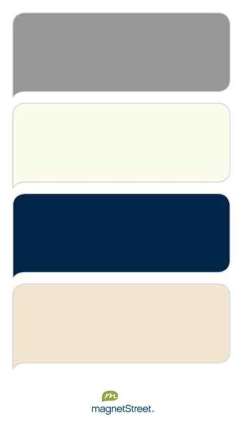 classic color schemes classic gray ivory navy and chagne wedding color