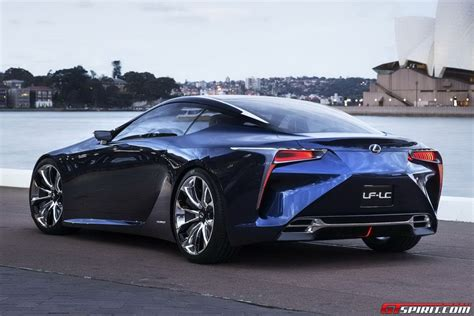 lexus concept lf lc lexus lf lc concept confirmed for production gtspirit