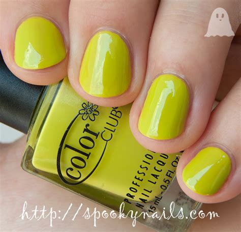 color club nail retailers color club creme chartreuse lime green