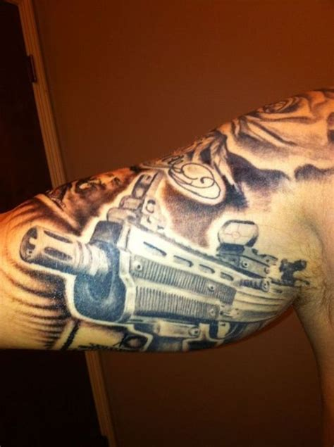 m16 tattoo the world s catalog of ideas