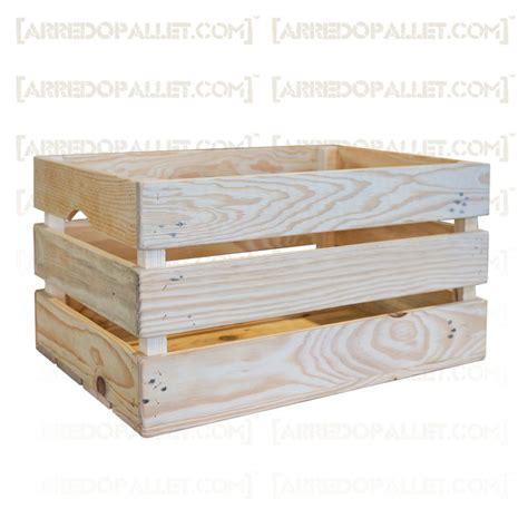 cassetta per legna mobili con cassette di legno riciclo cassette legno