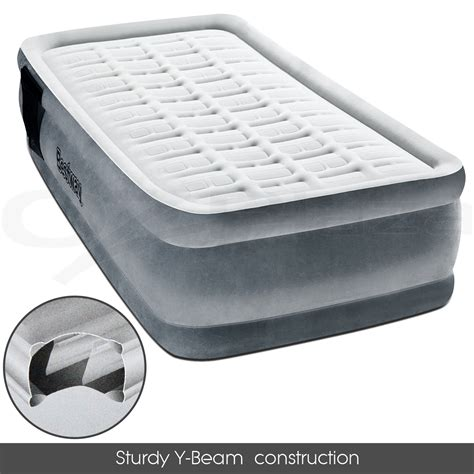 Air Mattress Electric by New Bestway Single Air Mattress Bed Electric