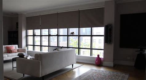Window Coverings For Large Windows Ideas Roller Blinds For Large Windows Window Treatments Design Ideas