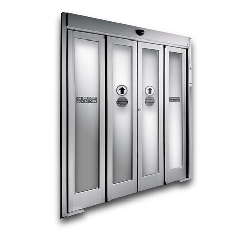 electronic doors dorma ed1200 automatic bi fold door advanced and versatile