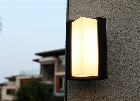 outdoor double wall light modern exterior sconce l for house awesome double sided