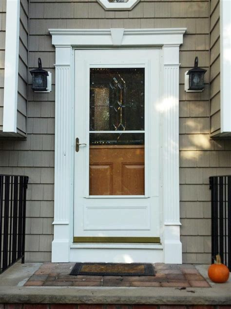 Exterior Door Molding by Decorative Front Door Surround Fluted Molding In Randolph