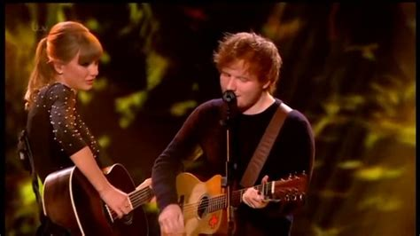 ed sheeran ft taylor swift taylor swift ft ed sheeran everything has changed live