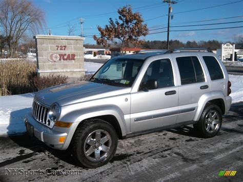 silver jeep liberty 2005 jeep liberty limited 4x4 in bright silver metallic