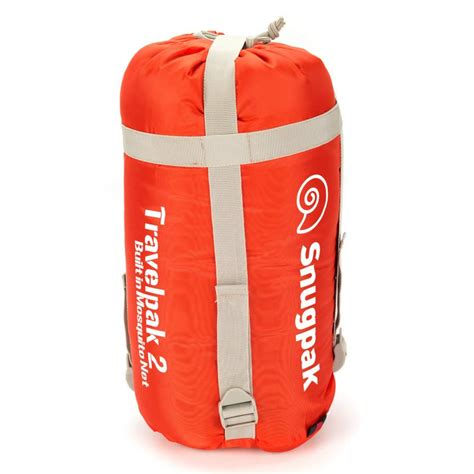 snugpak travelpak 2 season sleeping bag lightweight