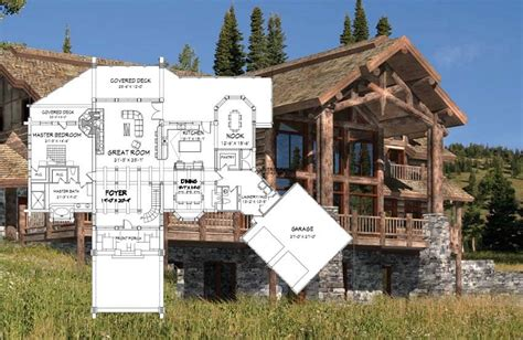 log home designs and floor plans handcrafted log homes precisioncraft