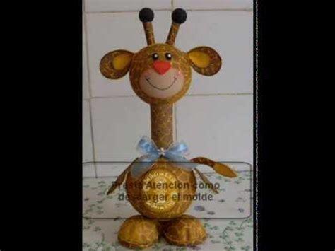 imagenes infantiles hechas en foami jirafa en foami goma eva con moldes patrones descarga e