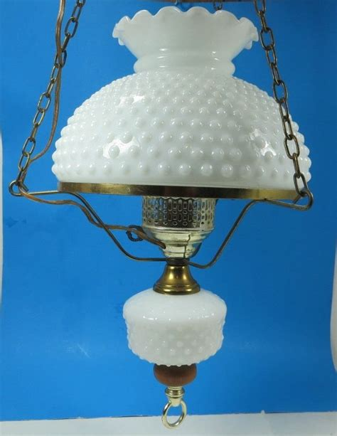 Hobnail Milk Glass Chandelier Pinterest