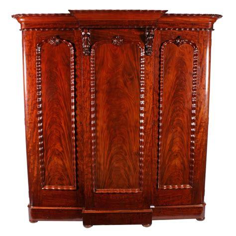 Mahogany Wardrobe by Antique Three Door Wardrobe Mahogany Wardrobe