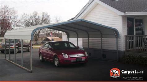 carport shop two car carport 18 x 21 regular style shop metal