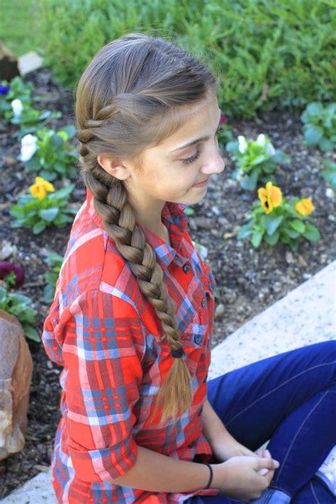 French Twist into Side Braid   Little Girls Love   Pinterest   French twists, Hair style and