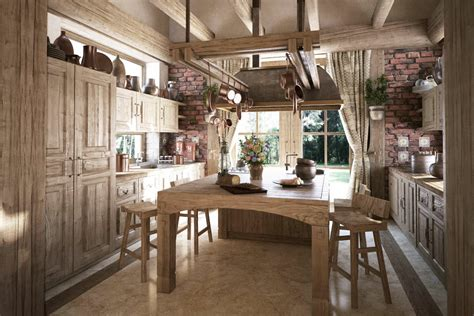 rustic kitchen decorating ideas rustic traditional kitchen interior design ideas