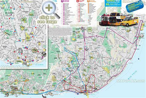 printable map lisbon lisbon maps top tourist attractions free printable