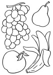 fruit templates printable fruit coloring pages coloring me