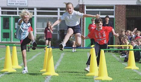 school sports day axed  killjoys  case children fall