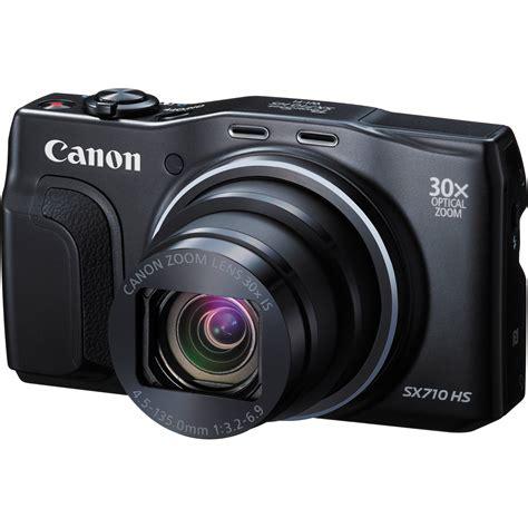 best canon powershot canon powershot sx710 hs digital black 0109c001 b h