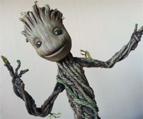 Dancing Groot from Guardians of the Galaxy. Actually