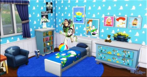 toy story home decor toy story bedroom at victor miguel 187 sims 4 updates