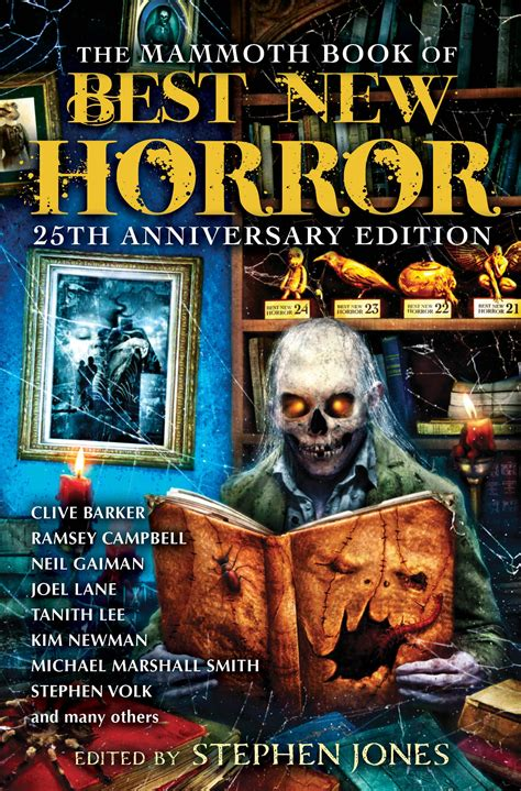 best new horror stephen jones the mammoth book of best new horror volume
