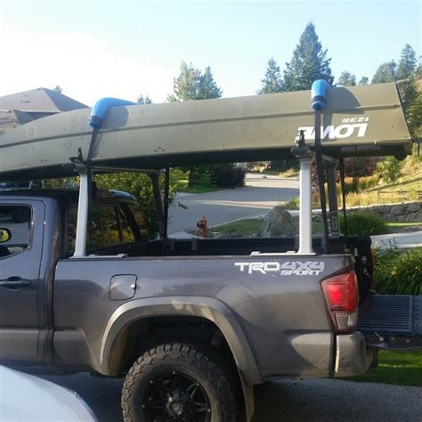 pickup bed boat rack boat rack options for 16 tacoma tacoma world
