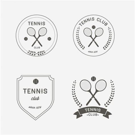 Logo Tenis tennis logo design vector free