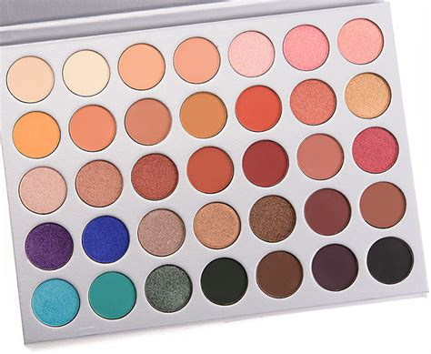 Best Window Shades by Morphe Brushes X Jaclyn Hill 35 Eyeshadow Palette 100
