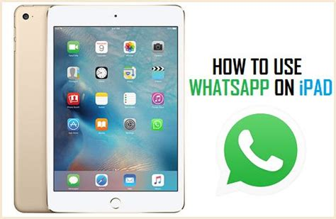 how to pad an how to use whatsapp on