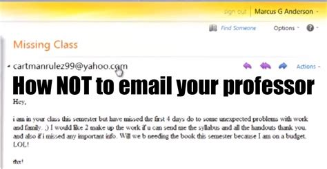 hilariously annoyed professor tears a student s email