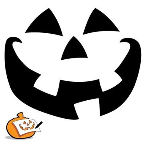 pumpkin carving template classic pumpkin face pumpkin