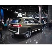 2017 Frankfurt Auto Show BMWs Largest SUV To Date  The X7