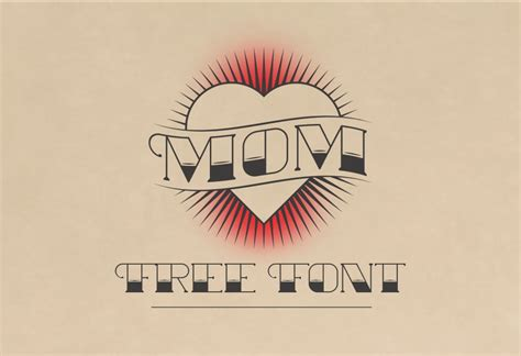 mom tattoo font mom font family 183 1001 fonts