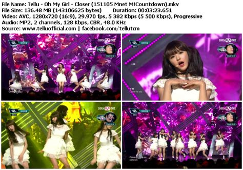 download mp3 closer oh my girl download perf oh my girl closer mnet m countdown 151105
