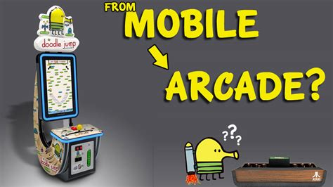 doodle jump arcade doodle jump s journey from mobile to arcade reverses the