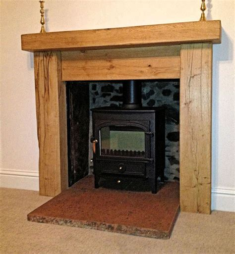 Rustic Wood Fireplace Surrounds by 1000 Images About Fireplaces On Surround