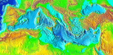 the rise in sea level of the mediterranean is accelerating