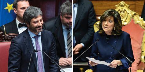 presidenti della e senato i nuovi presidenti di e senato il post