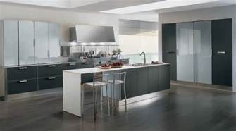 modern kitchen island the interior designs muebles de cocina modernos sin tiradores