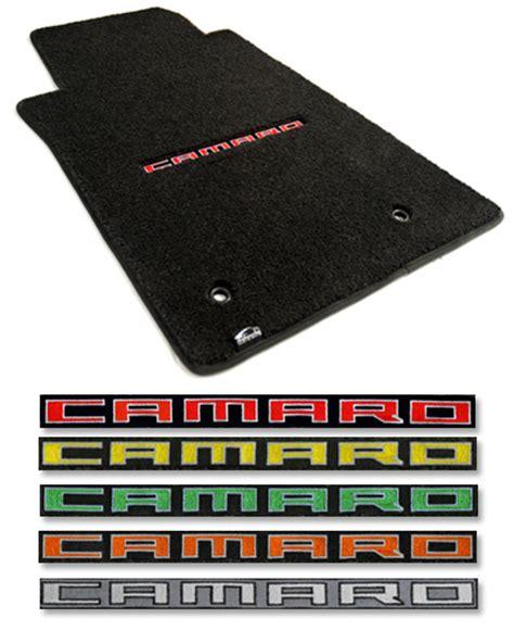 2010 2015 camaro floor mats 2010 2015 camaro logo floor mat set choose color chevymall