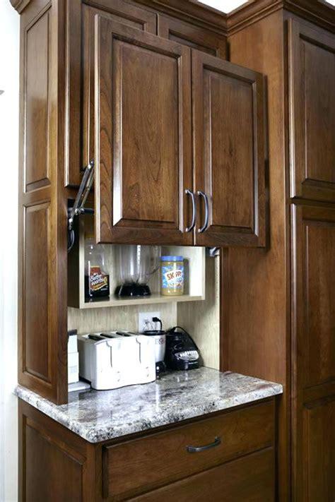 kitchen garage door cabinet kitchen design ideas