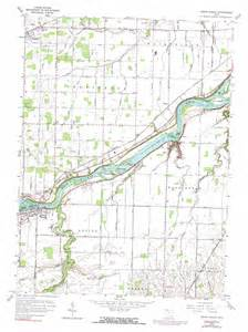 map usa grand rapids grand rapids topographic map oh usgs topo 41083d7