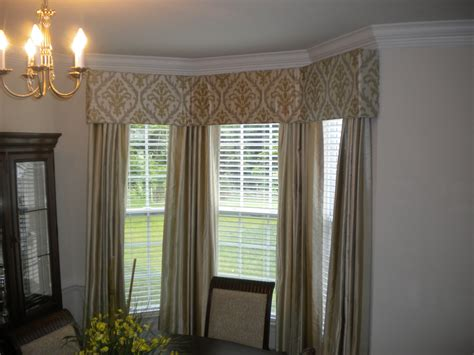 cornice uk cornice board in bay window with matching panels s